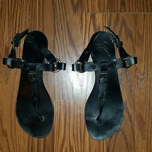 Giuseppe Zanotti Leather Sandals Size 39